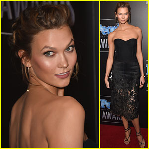 Karlie Kloss Wins Model of the Year at People Mag Awards 2014