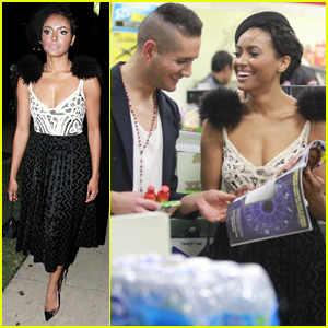 Kat Graham Hits the Town After Her Split News Was Revealed