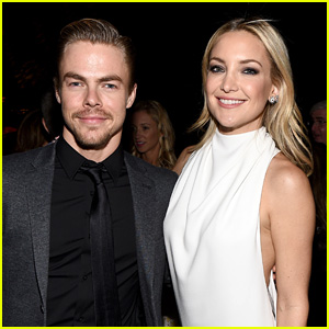 Kate Hudson & Derek Hough Caught Making Out - Report