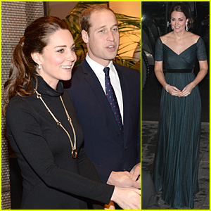 Kate Middleton's Baby Bump is Barely Noticeable During St. Andrews Dinner