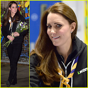 Kate Middleton's Eye Roll Face is Back While Visiting Scouts