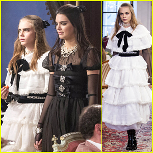 Kendall Jenner & Cara Delevingne Walked The Runway Today, But Not at the Victoria's Secret Fashion Show