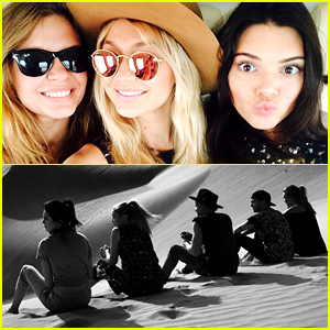 Kendall Jenner, Gigi Hadid & Cody Simpson Spend the Day in the Abu Dhabi Desert Before New Year's Eve