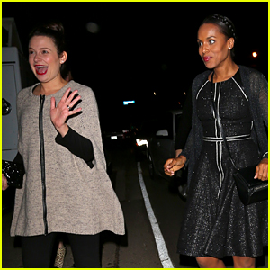 Kerry Washington & 'Scandal' Ladies Have a Girls' Night Out with Producer Jennifer Klein!