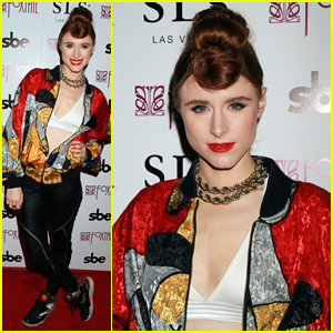 Kiesza Hits Las Vegas to Host Foxtail's 'Membership Mondays'!
