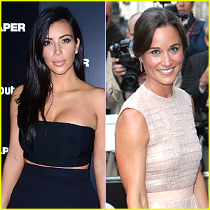 Kim Kardashian Responds to Pippa Middleton Comments in Nicest Way Possible