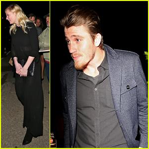 Kirsten Dunst & Boyfriend Garrett Hedlund Attend Producer Jennifer Klein's Holiday Party