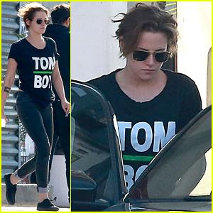 Kristen Stewart Embraces Her 'Tom Boy' Status in L.A.