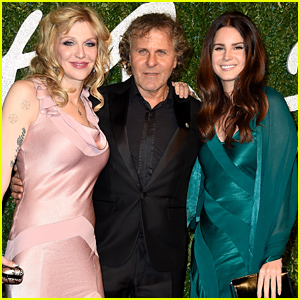 Lana Del Rey & Courtney Love Hit the Red Carpet After Their Tour News!