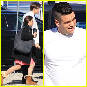Lea Michele & 'Glee' Cast Shoot Wedding Scene - Which Couple is Walking Down the Aisle?