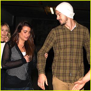 Lea Michele & Matthew Paetz Make It a 'Wild' Date Night!