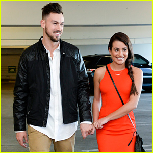 Lea Michele Holds Hands with Her Boyfriend Matthew Paetz In These Cute New Photos!