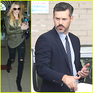 LeAnn Rimes Flies Back to Los Angeles to Be With Eddie Cibrian Right Before Holidays