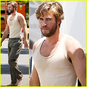 Liam Hemsworth Gets Dirty Down Under for 'The Dressmaker'