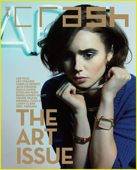 Lily Collins Shares Dreams of Acting in French Movie in 'Crash' Magazine!