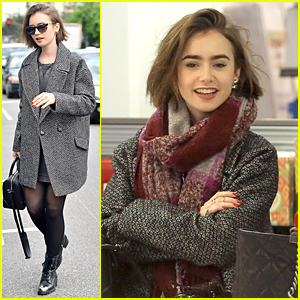 Lily Collins Hits Goo Goo Dolls Concert to End Homelessness