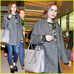 Lily Collins Lets the Adventure Begin in Tokyo