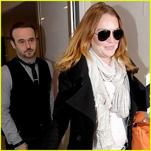 Lindsay Lohan Still Has Her Assistant Matt Harrell!