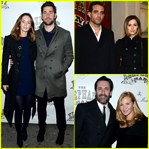 Lots of Star-Studded Couples Attend 'The Elephant Man' Broadway Opening Night!