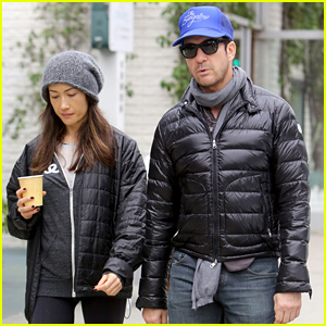 'Stalker' Co-Stars & Real Life Couple Maggie Q & Dylan McDermott Grab Some Morning Coffee