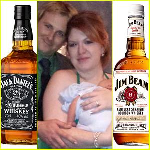 This Man Named Jack Daniels Named His New Son Jim Beam Random Just Jared
