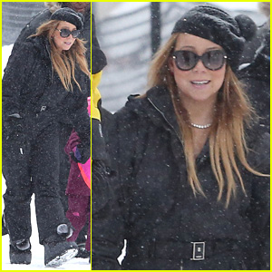 Mariah Carey is the Ultimate Snow Bunny on Aspen Slopes!