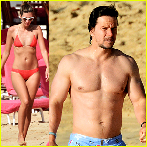 Mark Wahlberg Goes Shirtless in Fourth Swimsuit of His Trip!