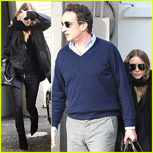 Mary-Kate Olsen & Beau Olivier Sarkozy Shop After She Skips 'Full House' Reunion