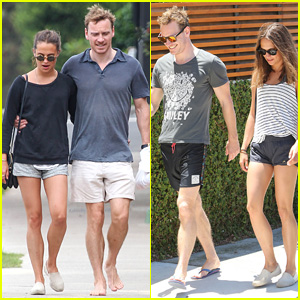 Michael Fassbender & New Girlfriend Alicia Vikander Pack on the PDA in Sydney