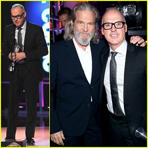 Michael Keaton Takes Home Movie Actor of the Year for 'Birdman' at People Magazine Awards 2014