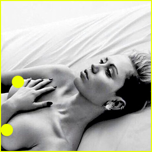 Miley Cyrus Posts Topless Photo to Support 'Free the Nipple,' Instagram Deletes It