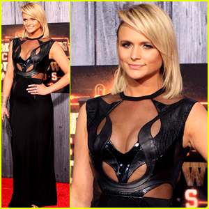 Miranda Lambert Goes Slightly Sheer at the American Country Countdown Awards 2014