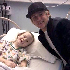 One Direction's Niall Horan Visits Young Hospital Patients Before Christmas!