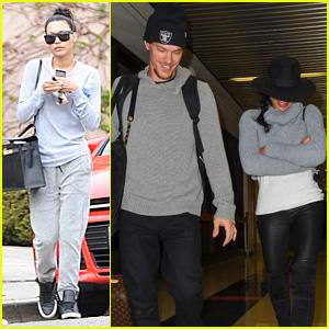 Naya Rivera & Husband Ryan Dorsey Return to L.A. After Spending Thanksgiving in West Virginia