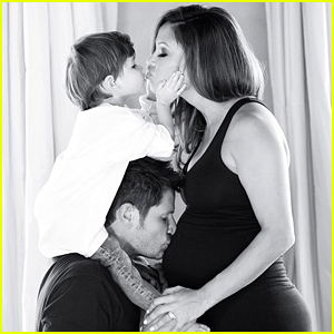 Nick & Vanessa Lachey Share Their Adorable Family Christmas Card with Their Son Camden!