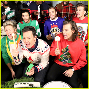 One Direction's Santa Claus Is Coming To Town' is the Best Christmas Present Ever - Watch Now!