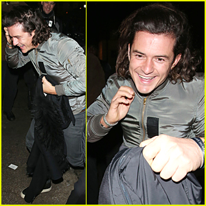 Orlando Bloom's Face Shows How Excited He Is For Dinner