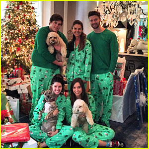 Patrick Schwarzenegger & His Family Are Quite a Match on Christmas