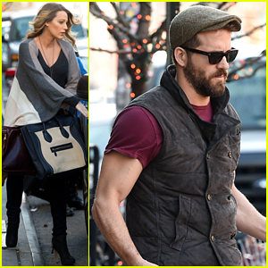 Pregnant Blake Lively & Her Husband Ryan Reynolds Spotted Together in NYC!
