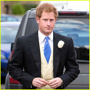 Prince Harry is a Royal Hottie Attending His Friend's Wedding