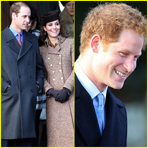 Kate Middleton & Prince Harry Kick Off Christmas with Church