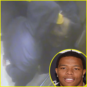 New Surveillance Video Shows Ray & Janay Rice Kissing After Elevator Incident