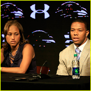 Ray Rice Publicly Apologizes to His Wife Janay After Domestic Violence Attack (Video)