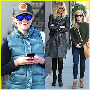 Reese Witherspoon & Laura Dern Get 'Wild' Over Lunch in Venice