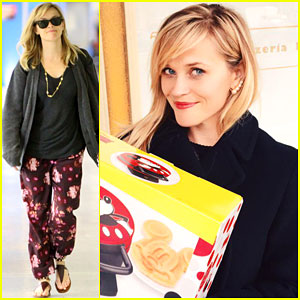 Reese Witherspoon Got the Best Secret Santa Gift Ever