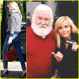Reese Witherspoon is One Naughty Girl According to Santa