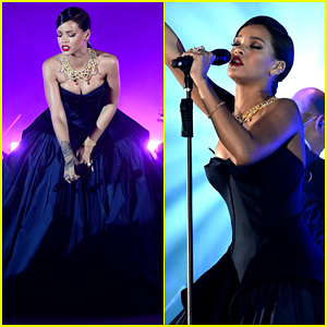 Rihanna Performs Her Hits with Full Orchestra at Diamond Ball (Videos)