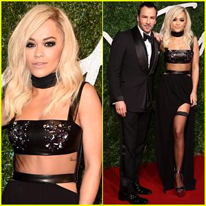 Rita Ora Has a 'Gorgeous Date' at the British Fashion Awards!