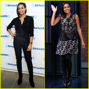 Rosario Dawson Talks Being Unsure of Doing 'Top Five' on 'Late Night with Seth Meyers'