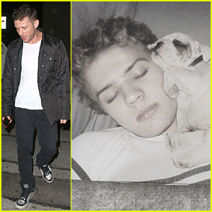Ryan Phillippe Let His Late Pet Pooch Frank Rest On His Head in Cutest Throwback Thursday Pic Ever